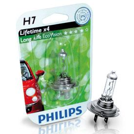 ampoule voiture h7 12v philips 1 ampoule h7 longerl. Black Bedroom Furniture Sets. Home Design Ideas