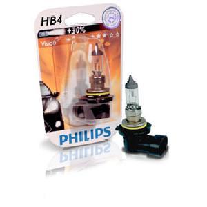 ampoule voiture hb4 12v philips 1 ampoule hb4 vision. Black Bedroom Furniture Sets. Home Design Ideas
