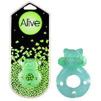 Anneaux pour penis Alive - Anneau vibrant phosphorescent Flash Teddy