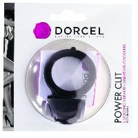 Anneaux pour penis Dorcel - Anneau vibrant Power Clit Noir V2 - 7cm - D4.3cm