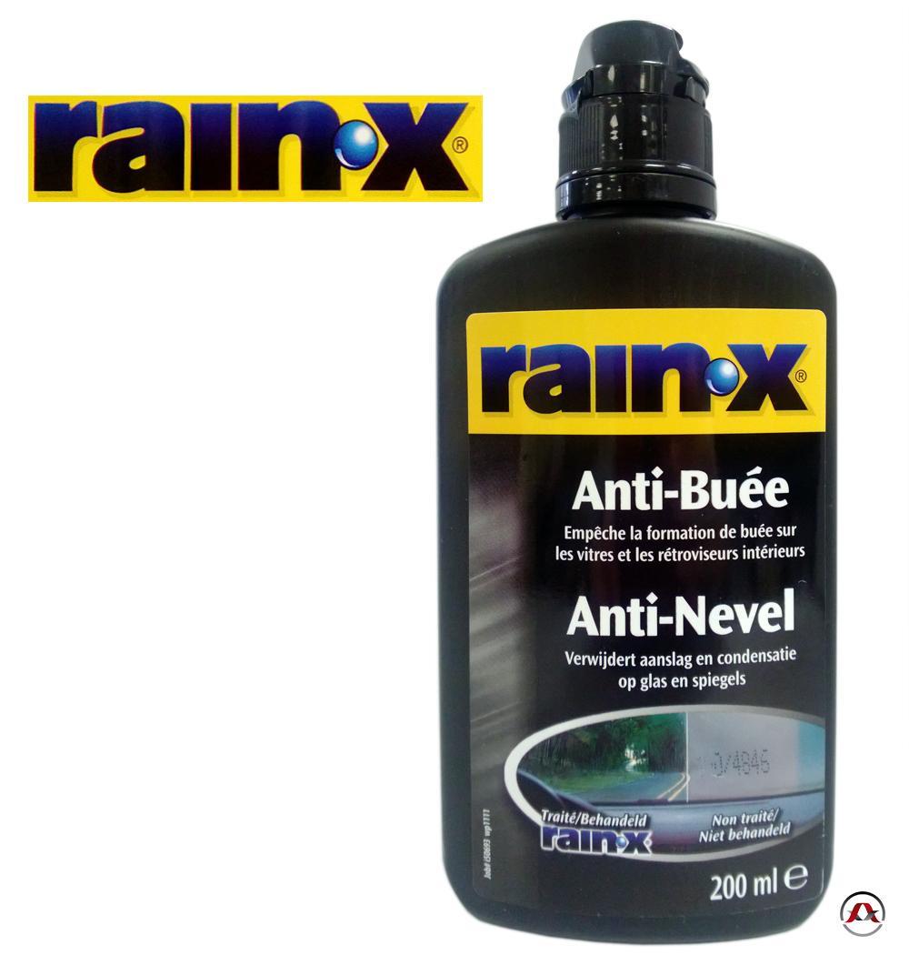 anti pluie et anti buee rainx rain x buee 200ml. Black Bedroom Furniture Sets. Home Design Ideas