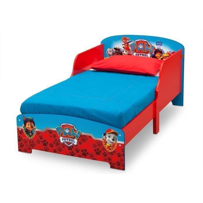 delta children delta children lit en bois pat patrouille 394678. Black Bedroom Furniture Sets. Home Design Ideas