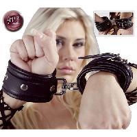 Attaches BDSM LRDP - Attaches Cuir avec fermetures tournantes - Fetish
