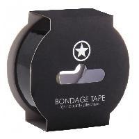 Attaches BDSM Touche - Bondage Tape Noir - 17 Metres