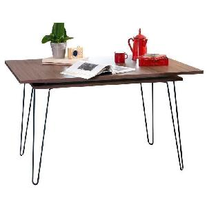 Aero table a manger extensible 6 et 8 personnes vintage for Table extensible 6 a 8 personnes blooma