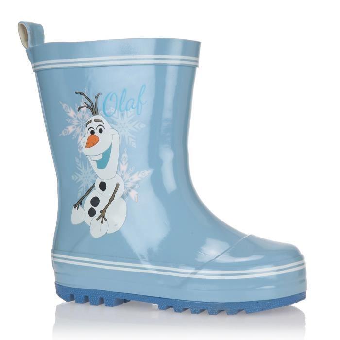 frozen la reine des neiges bottes de pluie chaussures. Black Bedroom Furniture Sets. Home Design Ideas