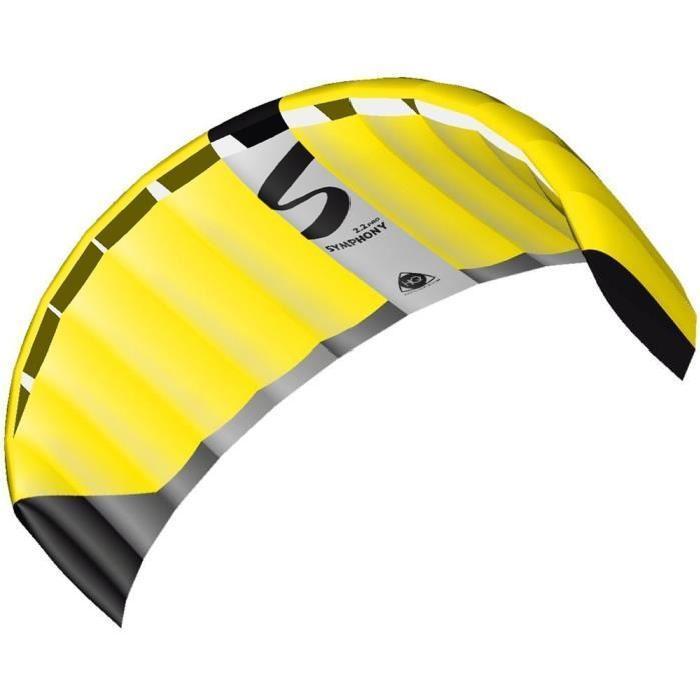 HQ INVENTO Aile 2 lignes sur poignees Symphony Pro 2.2 Complet Neon Yellow
