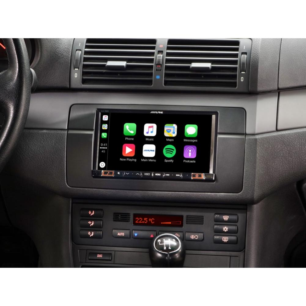 autoradio alpine alpine ine w710d navigation. Black Bedroom Furniture Sets. Home Design Ideas