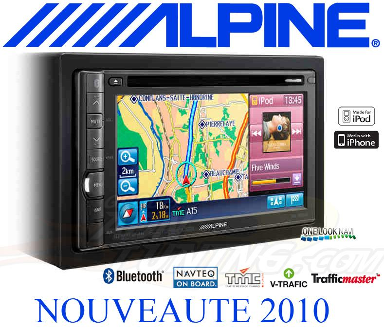 autoradio alpine autoradio ecran ine s900r station gps multimedia dvd cd bluetooth usb. Black Bedroom Furniture Sets. Home Design Ideas