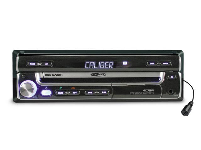 autoradio dvd caliber rdd 572bti motorise 208502. Black Bedroom Furniture Sets. Home Design Ideas