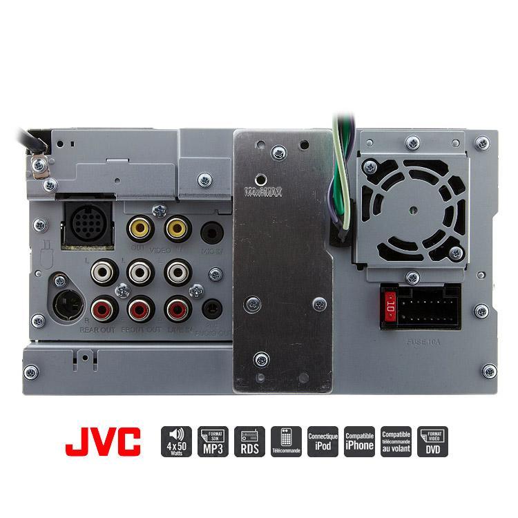 jvc kw avx840 autoradio 2 din dvd divx cd usb bluetooth ecran 146429. Black Bedroom Furniture Sets. Home Design Ideas