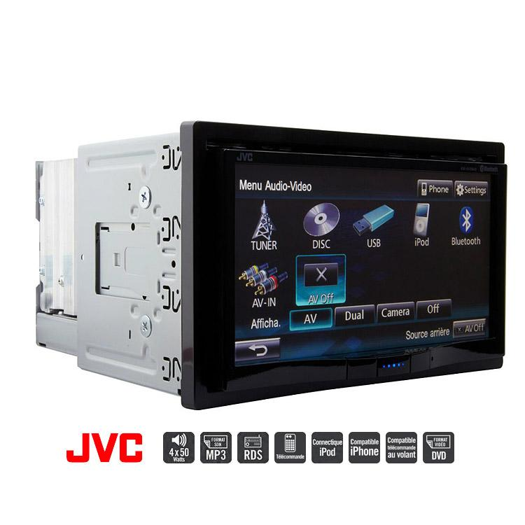 jvc kw avx840 autoradio 2 din dvd divx cd usb bluetooth ecran 146429. Black Bedroom Furniture Sets. Home Design Ideas