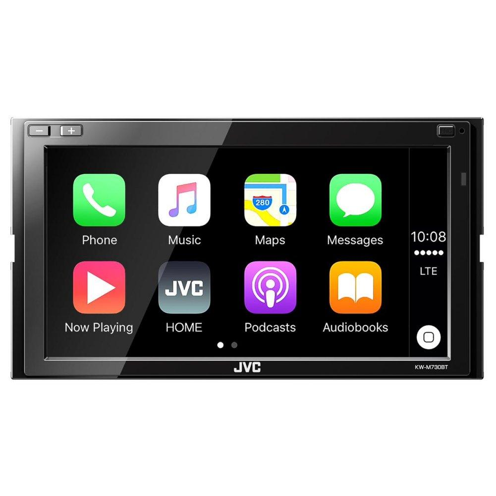 jvc kw m730bt autoradio multimedia 2 din bluetooth. Black Bedroom Furniture Sets. Home Design Ideas