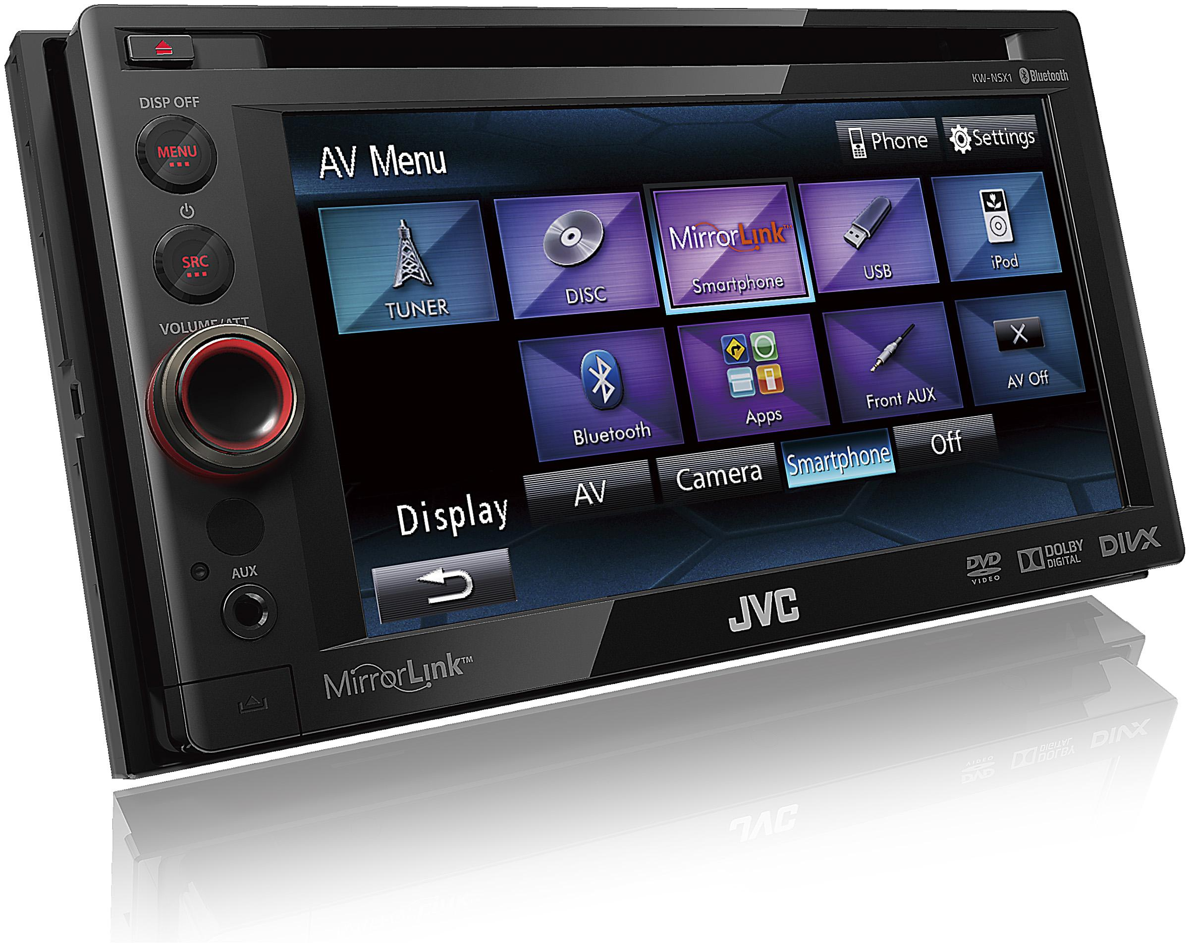 autoradio dvd jvc kw nsx1e autoradio 163227. Black Bedroom Furniture Sets. Home Design Ideas
