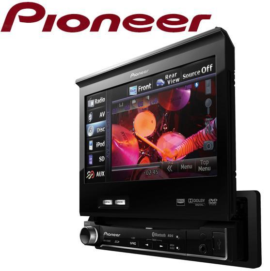 avh 5200bt autoradio dvd mp3 divx ecran 7p motorise ipod usb sd bluetooth 2010 76801. Black Bedroom Furniture Sets. Home Design Ideas