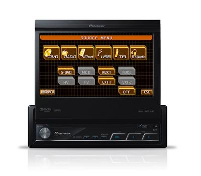 avh p5100dvd autoradio dvd mp3 divx avec ecran video 7p ipod usb 2009 65963. Black Bedroom Furniture Sets. Home Design Ideas