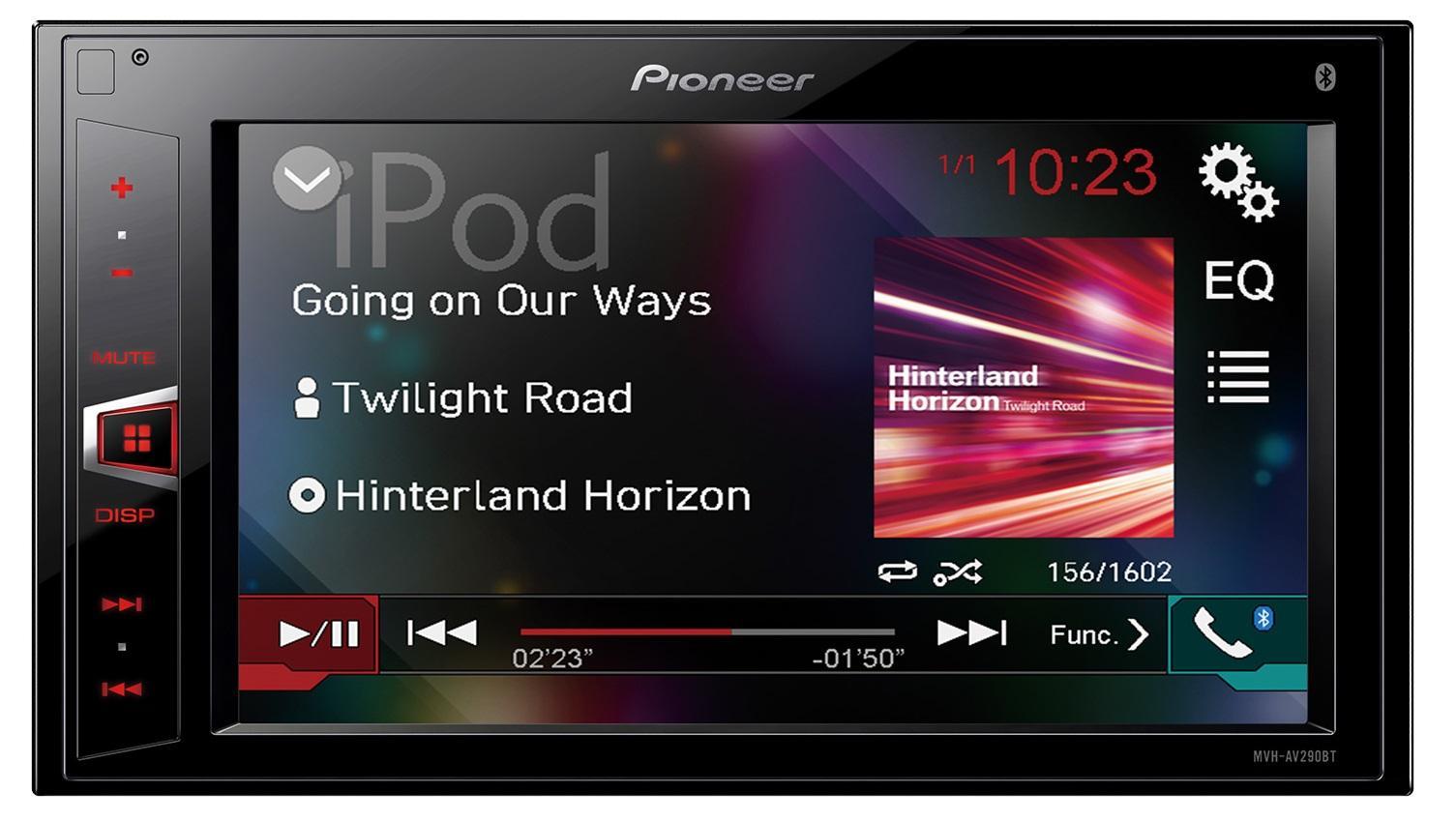 MVH-AV290BT - Autoradio 2DIN MP3/USB/Aux/Video - Bluetooth ...