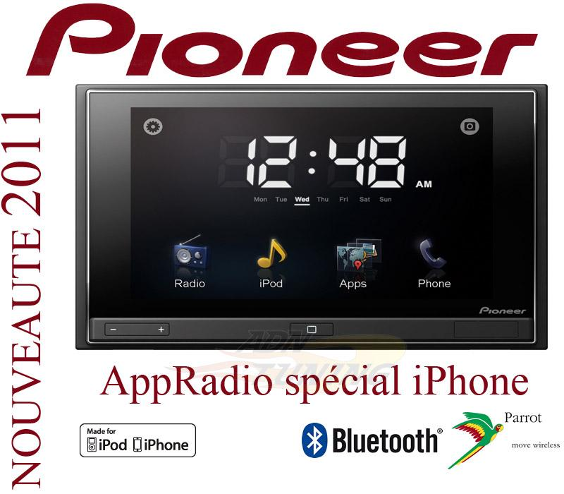 autoradio dvd pioneer sph dao1 appradio 129248. Black Bedroom Furniture Sets. Home Design Ideas