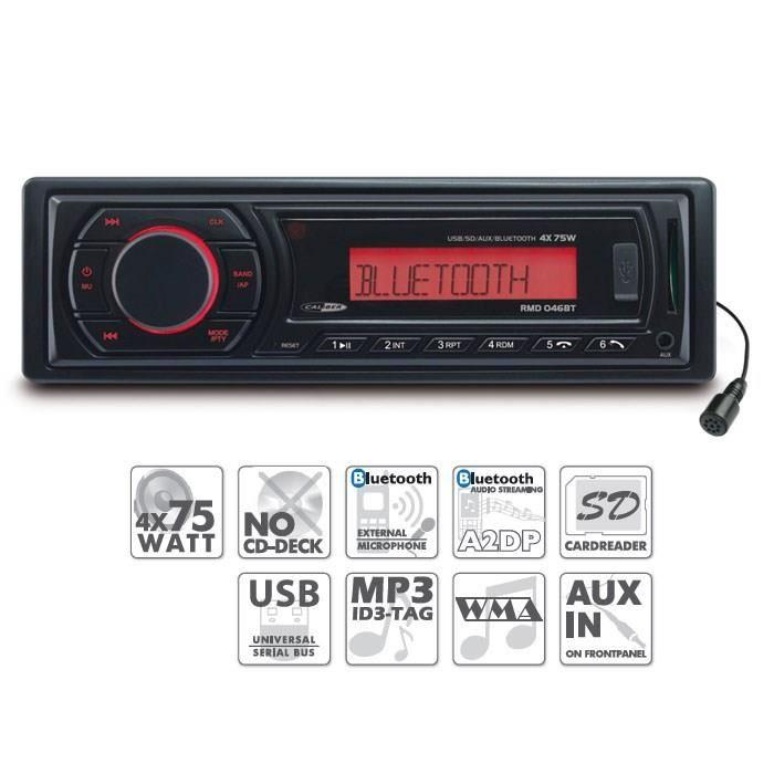 caliber caliber rmd 046bt autoradio bluetooth usb sd fm 308627. Black Bedroom Furniture Sets. Home Design Ideas