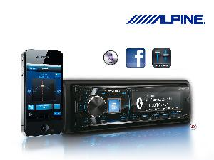 Autoradio CD MP3 Alpine - iDE-178BT - Autoradio MP3/WMA - USB/iPhone/Android/Nokia - Bluetooth Plus - TuneIt - 4x50W