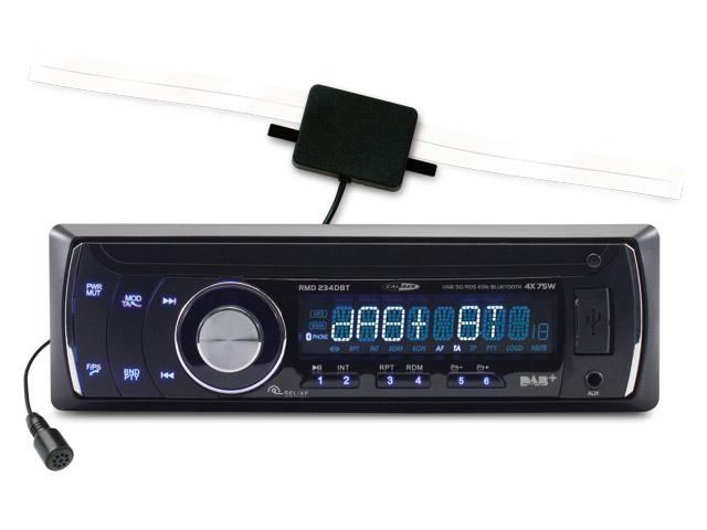 autoradio avec lecteur usb sd aux tuner fm am dab sans. Black Bedroom Furniture Sets. Home Design Ideas