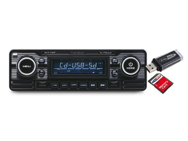 caliber rcd120 b autoradio cd usb sd fm aux noir 397997. Black Bedroom Furniture Sets. Home Design Ideas
