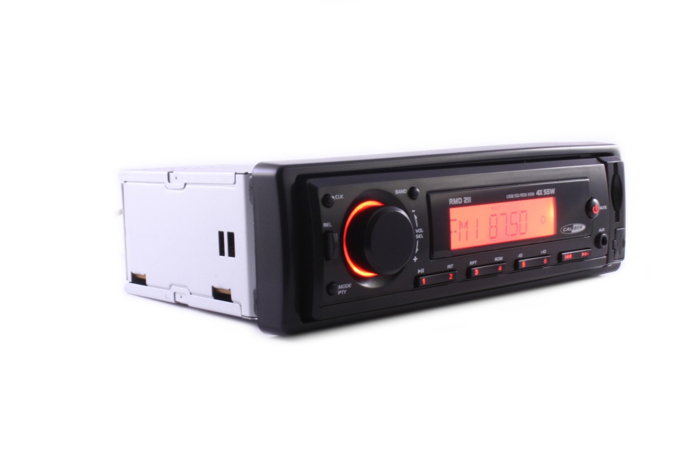 autoradio cd et mp3 caliber radio usb sd mp3 aux 211963. Black Bedroom Furniture Sets. Home Design Ideas