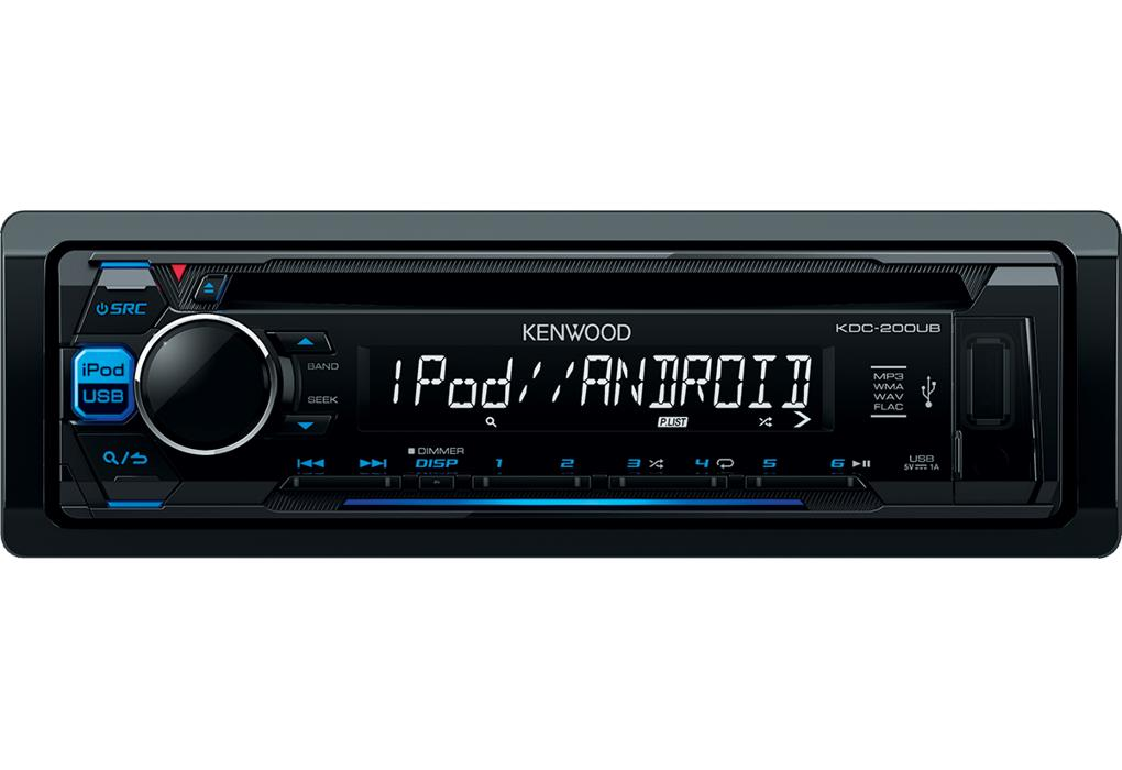 jvc kdc 200ub autoradio cd usb mp3 ipod iphone. Black Bedroom Furniture Sets. Home Design Ideas