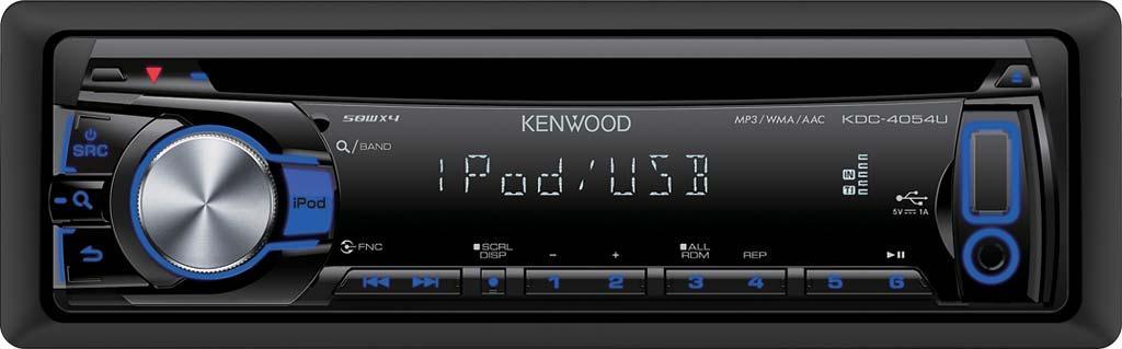 autoradio cd et mp3 kenwood kdc 4054ub 1 din 148101. Black Bedroom Furniture Sets. Home Design Ideas