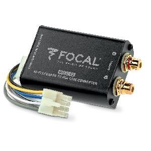 Autoradio Focal - Hilo V2 - Convertisseur stereo ligne haute a RCA pour amplificateur