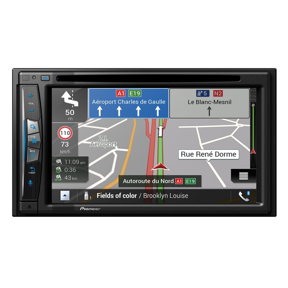 autoradio pioneer pioneer avic z610bt c 2xusb. Black Bedroom Furniture Sets. Home Design Ideas