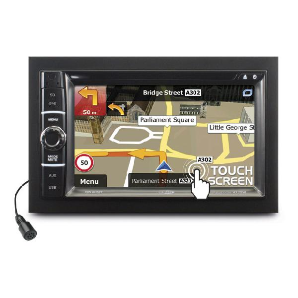 Autoradio RDN802BT - DVD/USB/SD/AUX - Navigation - Bluetooth