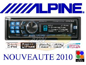 Autoradios CD-MP3 Alpine - CDA-117Ri - Autoradio CD/MP3/WMA - iPod/USB - Ai-Net - 4x50W -> CDA-137BTi