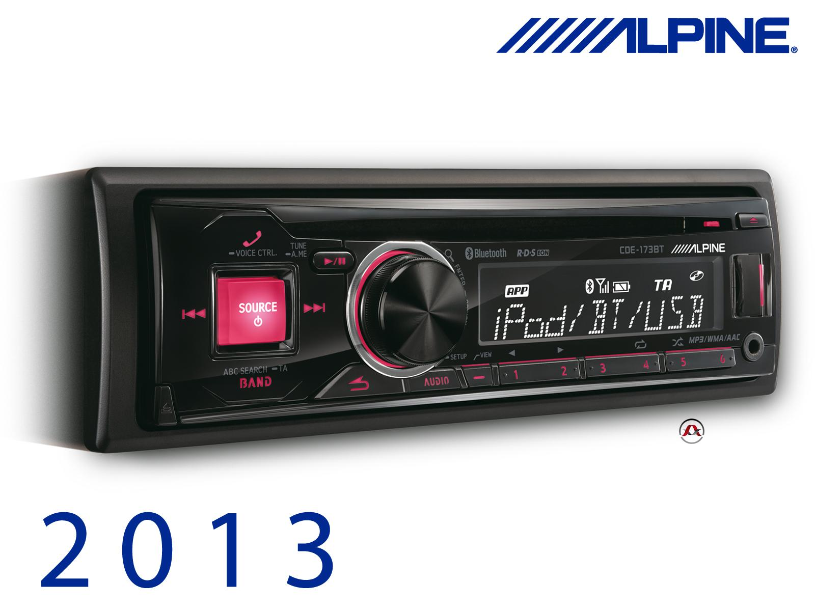 autoradio cd et mp3 alpine cde 173bt bluetooth. Black Bedroom Furniture Sets. Home Design Ideas