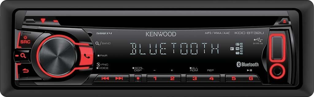 autoradio cd et mp3 kenwood kdc bt32u 1din bt 148185. Black Bedroom Furniture Sets. Home Design Ideas