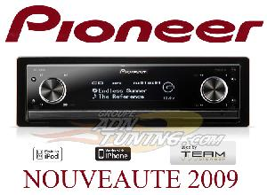 Autoradios CD-MP3 Pioneer - DEX-P99RS - Autoradio CD/MP3/WMA/AAC - USB/iPod - Reference serie
