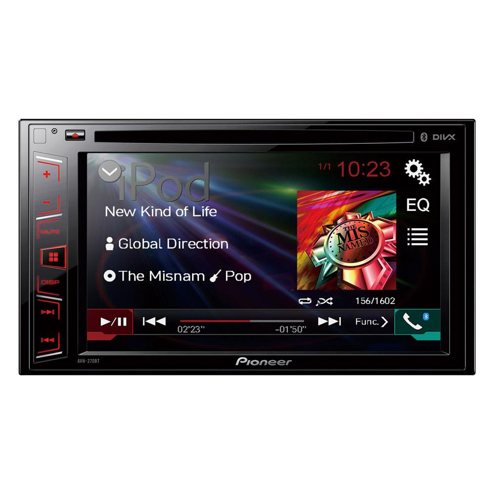 autoradio dvd pioneer avh 270bt 227719. Black Bedroom Furniture Sets. Home Design Ideas