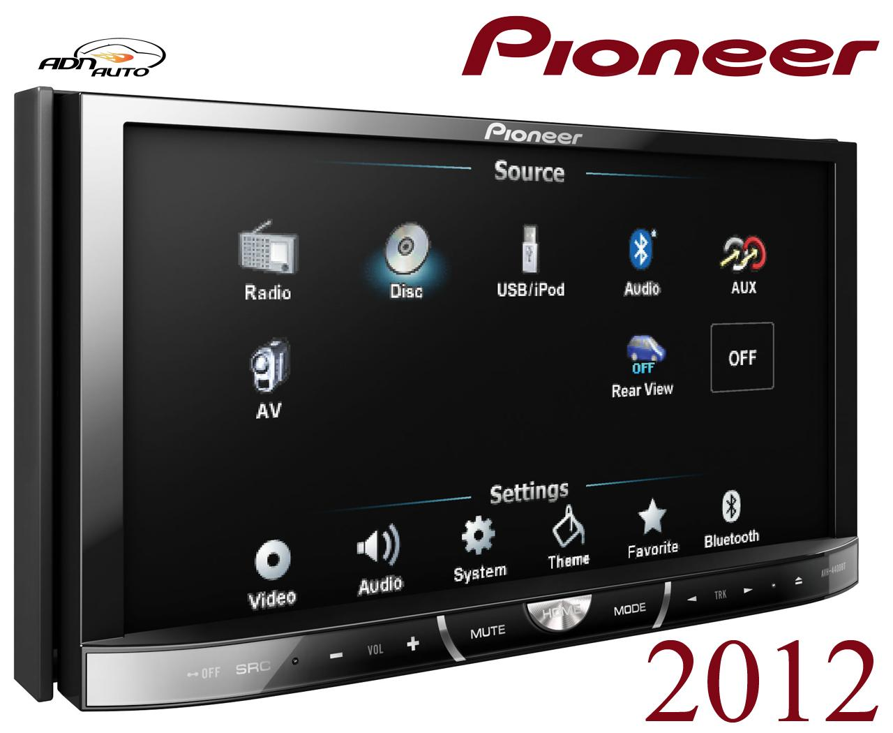 autoradio dvd pioneer avh 4400bt 147350. Black Bedroom Furniture Sets. Home Design Ideas