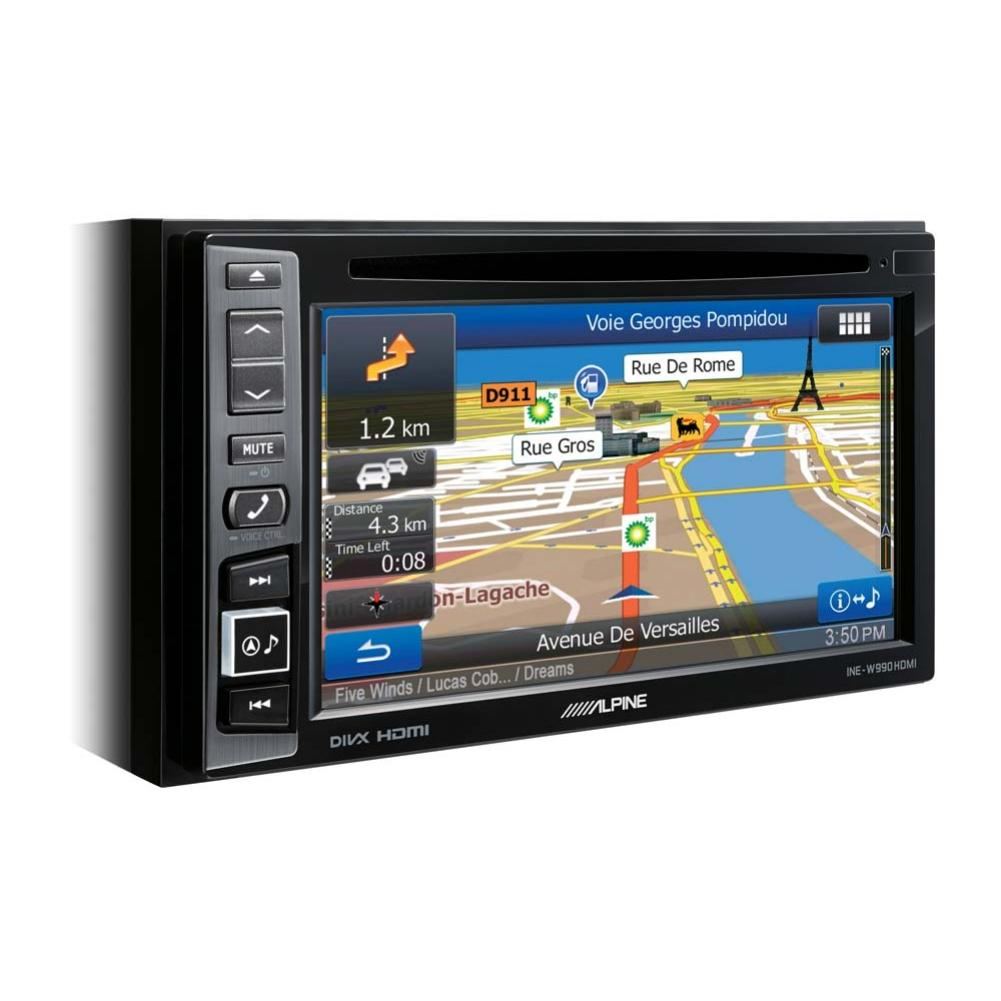 autoradio navigation avec gps alpine ine w990hdmi 2din. Black Bedroom Furniture Sets. Home Design Ideas