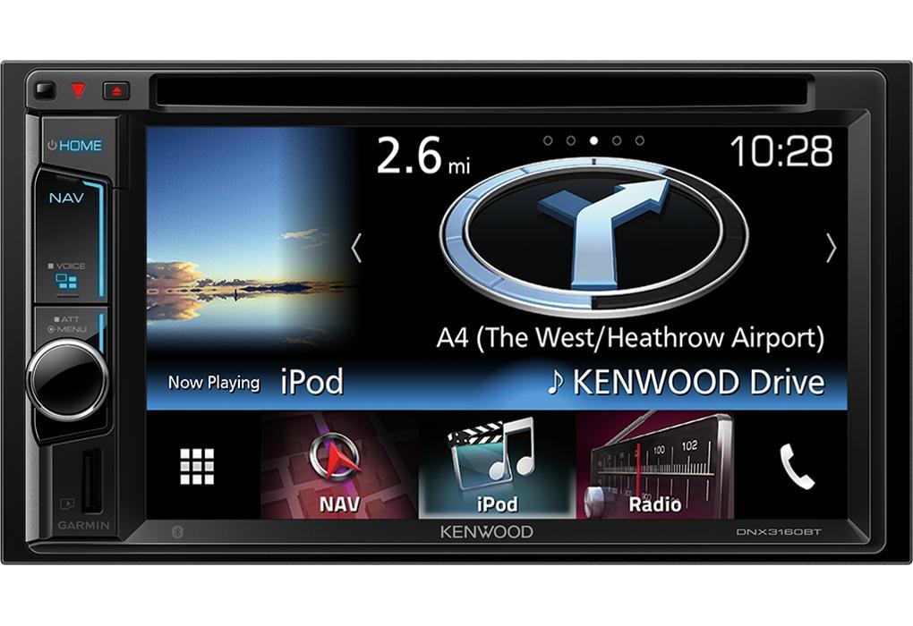 kenwood dnx3160bt autoradio 2din usb dvd navigation bluetooth 312494. Black Bedroom Furniture Sets. Home Design Ideas