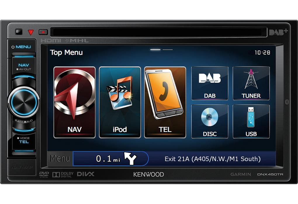 dnx450tr autoradio 2din dvd mp3 usb ipod dab bluetooth navigation poids lourds et. Black Bedroom Furniture Sets. Home Design Ideas