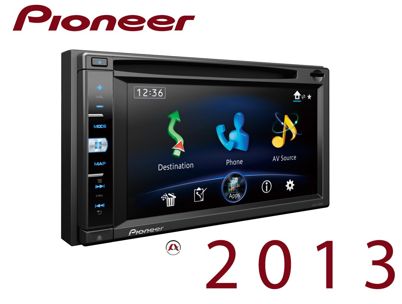 autoradio navigation avec gps pioneer avic f950bt bluetoot. Black Bedroom Furniture Sets. Home Design Ideas