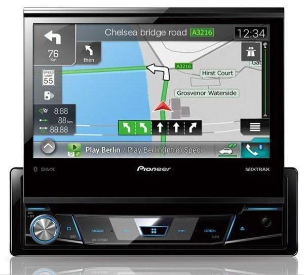 autoradio navigation avec gps pioneer navgate77bt c fr a 228448. Black Bedroom Furniture Sets. Home Design Ideas