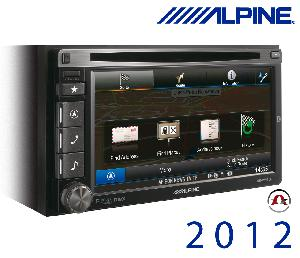 Autoradios-Navigations Alpine - INE-W920R - Station GPS multimedia DVD/CD - Bluetooth - USB/iPod - iPhone/Nokia - Ecran 6.1p - Navigation