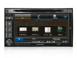 Autoradios-Navigations Alpine - INE-W925R - Station GPS multimedia DVD/CD - DAB/DMB - Bluetooth - USB/iPod - iPhone/Nokia/Android - Ecran 6.1p - Navigation