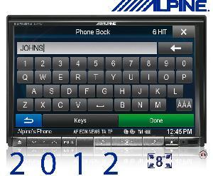 Autoradios-Navigations Alpine - INE-W928R - Station GPS multimedia DVD/CD - Bluetooth - USB/iPod - iPhone/Nokia - Ecran 8p - Navigation 46 pays