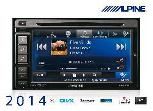 Autoradios-Navigations Alpine - INE-W970BT - Station GPS multimedia DVD/CD - Bluetooth - USB/iPod/iPhone - Ecran 6.1p - Navigation -> INE-W990BT
