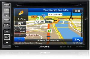 Autoradios-Navigations Alpine - INE-W990BT - Autoradio 2Din multimedia Bluetooth GPS ecran tactile 6.1 p USB iPod/iPhone
