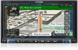 Autoradios-Navigations Alpine - INE-W997D - Station GPS multimedia - Bluetooth - USB/iPod/Tuner - iPhone/Nokia - Ecran 7p - Navigation