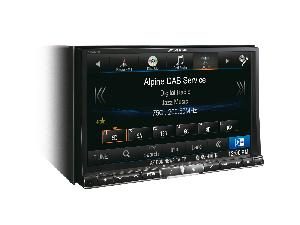 Autoradios-Navigations Alpine - Station GPS Multimedia 2 DIN DVD/CD - Bluetooth - USB/iPod - iPhone/Android - Ecran 8p - Navigation - X800D-U -